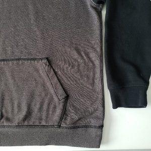 Zine Clothing Shirts - Zine Two-Tone Hoodie Sweater Large